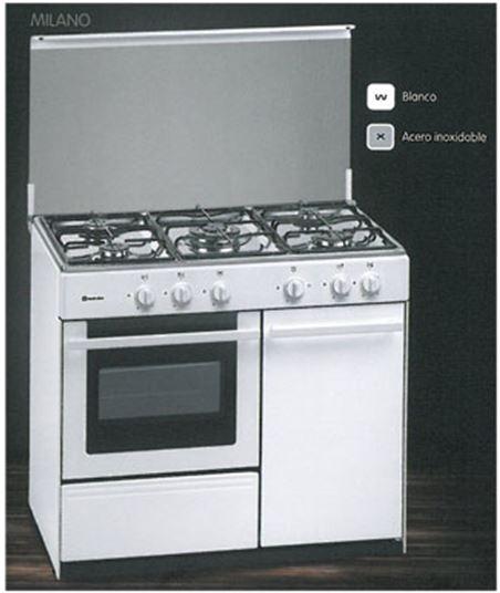 Cocina gas 5z Meireles G2950DVW (portabombona) - LG2950DVW