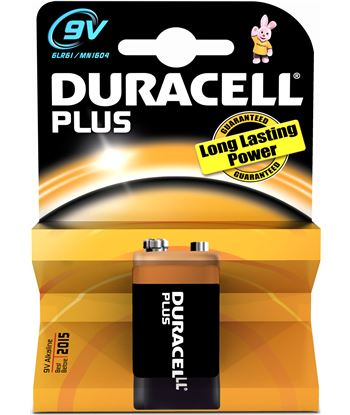 Duracel MN1604K1 pila alc. l 9v (6f22) plus power 1kp - 9VMN1604PLUS