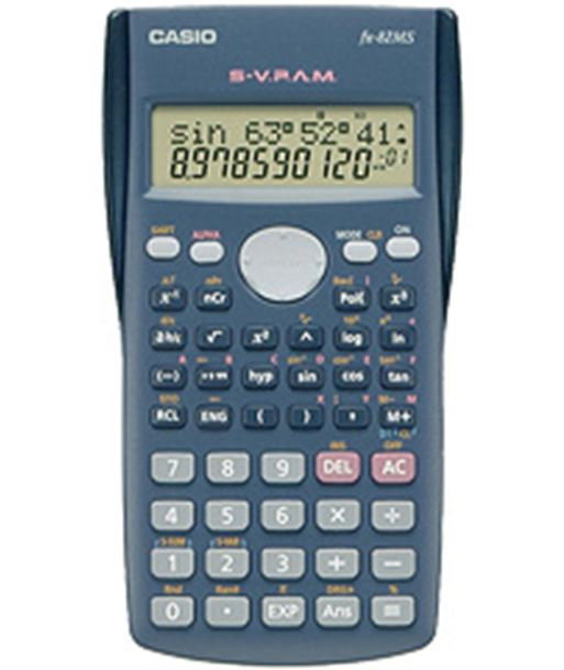 Casio c.cientifica fx 82 ms (2 lineas) fx82ms - 4971850189046