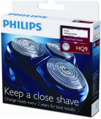 Philips-pae pack 3 conjunto cortante speed xl philips hq9_50 hq950 - HQ950