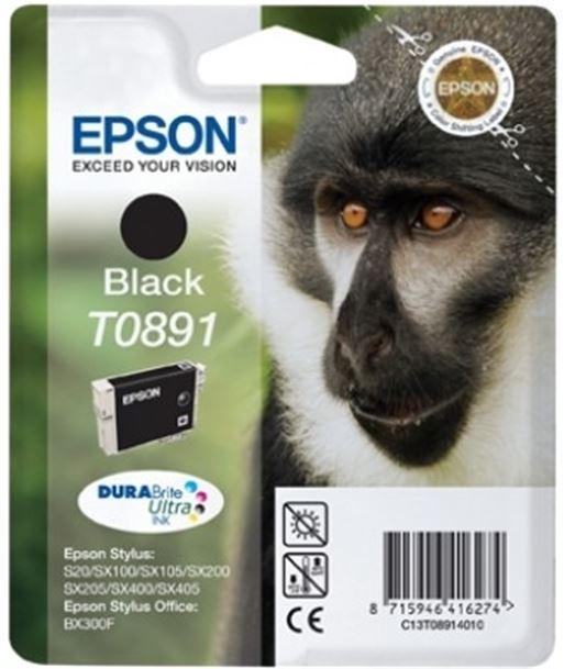 Tinta negro Epson .891. EPSC13T08914011 - C13T08914010