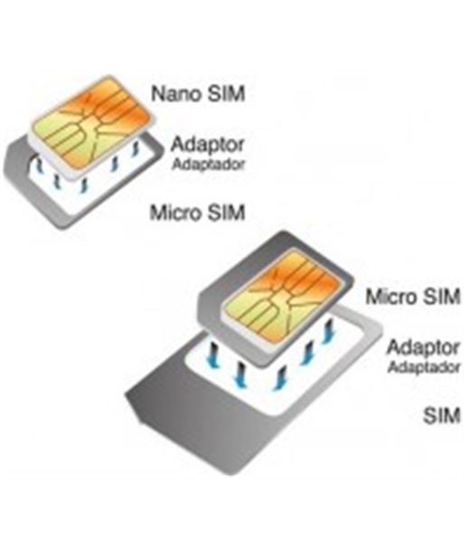 Contact pack adaptadores nano-micro sim/micro sim-sim bxadapp - 8427542009445