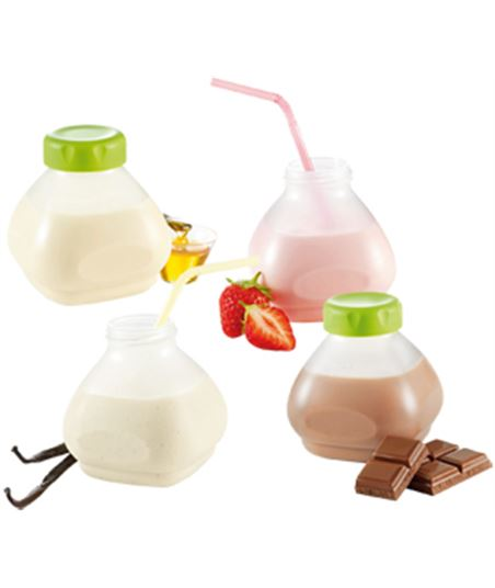 Tefal accesorio 6 botellines yogur liquido xf102032 - XF1020