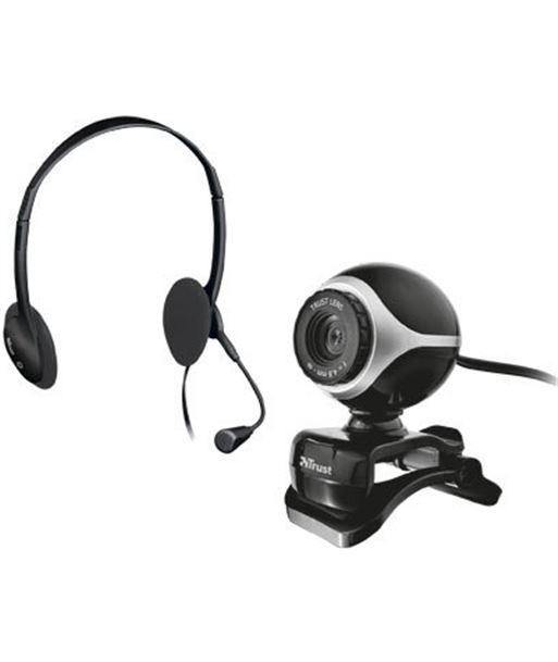 Kit auriculares con micro + webcam Trust TRU17028 Perifericos y accesorios - 17028