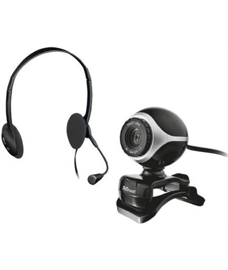 Kit auriculares con micro + webcam Trust 17028 - 17028