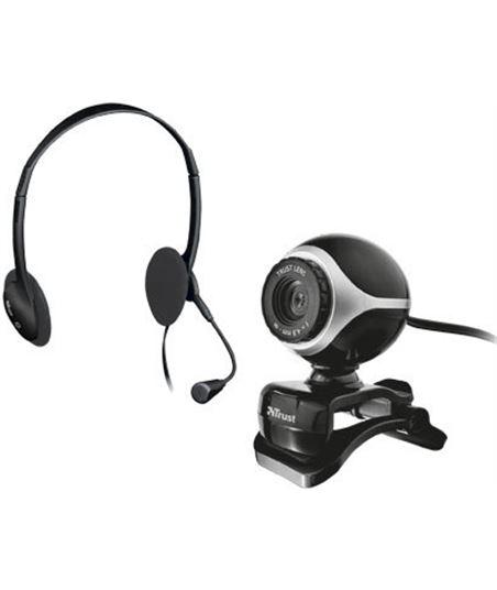 Kit auriculares con micro + webcam Trust 17028 - 17028