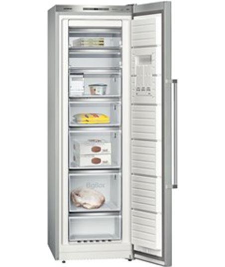 Congelador  vertical  no frost inox Siemens gs36nai31 (185x60x65) - GS36NAI31
