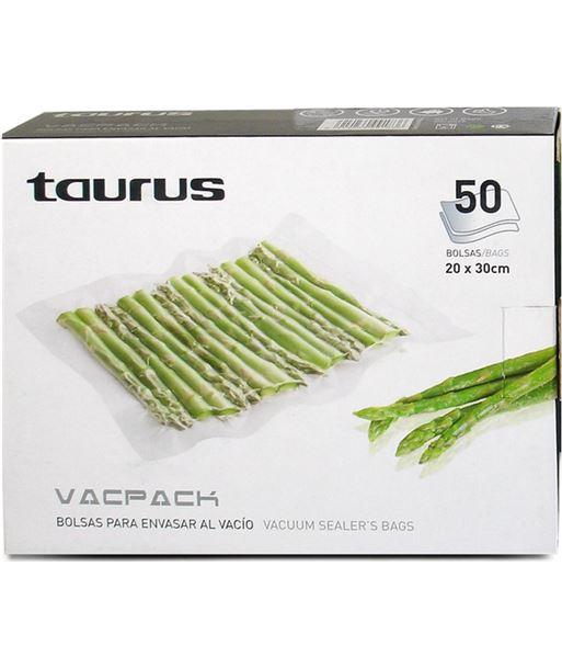 Taurus bolsas vacpack 50 u. (20 x 30 cm.) 999183 - 999183