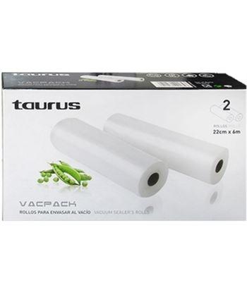 Taurus rollos vacpack 2 u. (22 cm x 6 m.) 999184