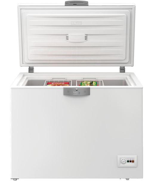 Congelador h Beko hsa24520 86x110x72,5cm blanco a+ - HSA24520