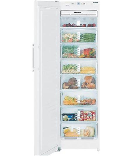 Congelador vertical no frost SGNES301024 Liebherr(185,2x60x63)ac inox - SGNES3010
