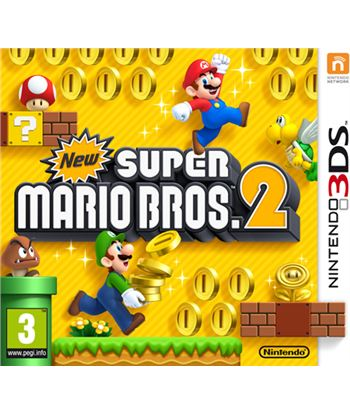 Nintendo juego 3ds new super mario bros 2 2223281