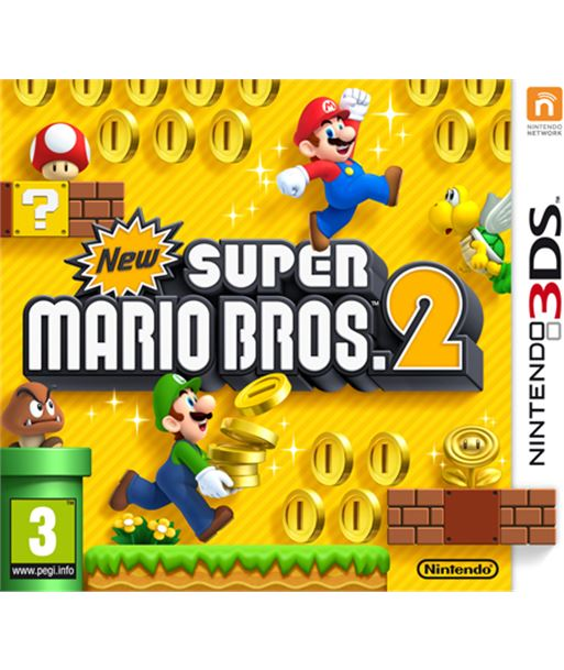 Nintendo juego 3ds new super mario bros 2 nin2223281 - 045496522582
