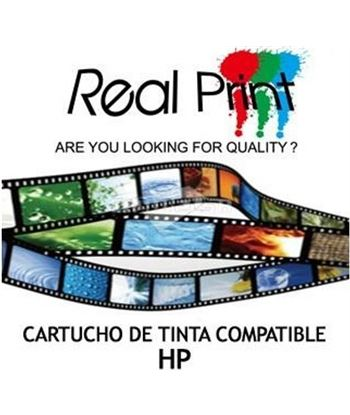 Real tinta compatible  hp 301xl negra hp301xlbk
