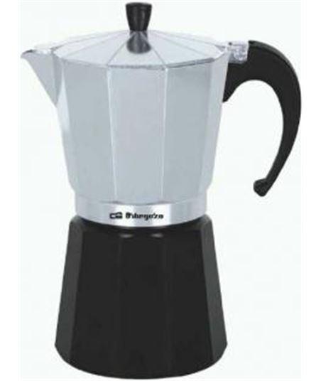 Cafetera aluminio Orbegozo KFM230 2 tazas - 8436044526329