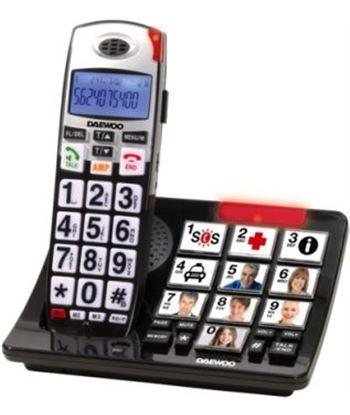 Tel. dect Daewoo DTD7500 (teclas grandes+base) Telefonía doméstica