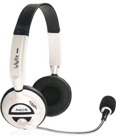 Lurbe auricular + micro ngs msx6 white msx6white - MSX6PRO