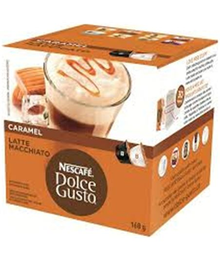 Bebida Dolce gusto caramel latte macchiato NES12136960 - 12136960