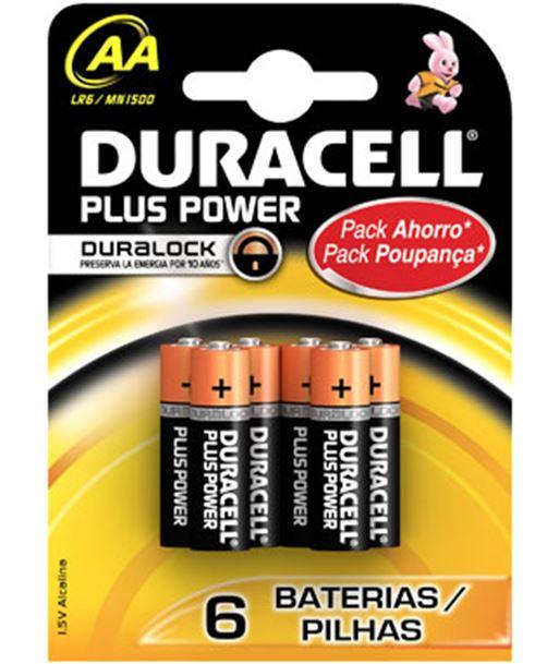 Pilas Duracell alcali. aa plus power lr06 4kp LR06K4 - AA-LR06-PPOWER