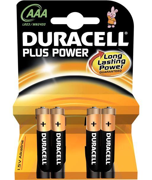 Pilas alc. Duracell aaa lr03 plus power 4kp LR03K4 - AAAMN2400PLUS