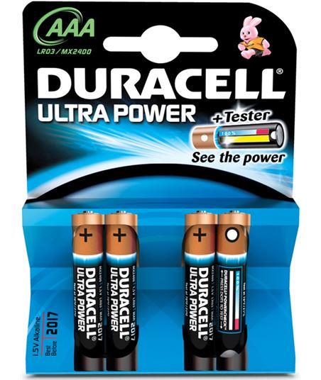 Pilas Duracell alcali. ultra power aaa lr03 4kp AAALR03ULTRA
