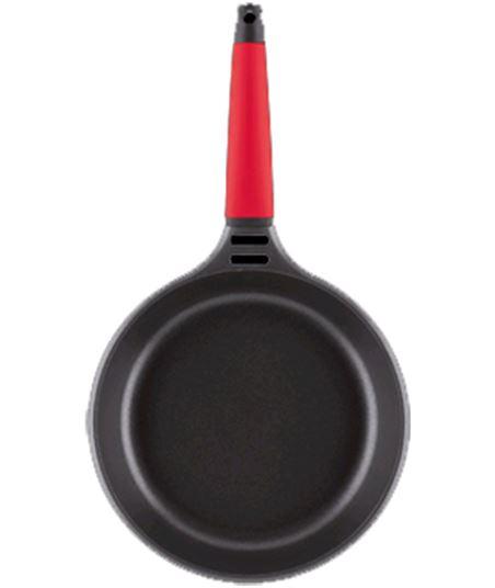 Castey sarten induccion fundix f3-i24 24cm mango verde f3i24