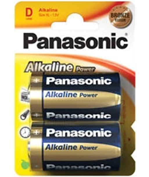 Pack 2 pilas alcalinas Panasonic lr-20 PANLR20_2 Pilas y cargadores - 5410853039211