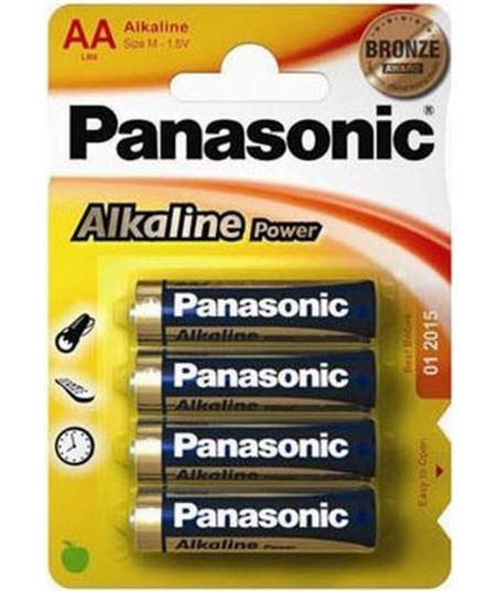 Pack 4 pilas alcalinas Panasonic lr-06 (aa) lr06_4 - 5410853039273