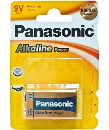 Pila alcalina Panasonic 9v PAN9V Pilas cargadores - 9V