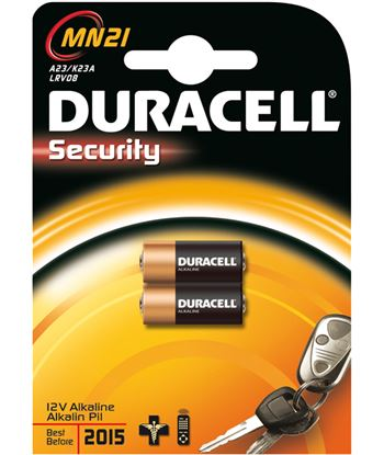 Pilas Duracell 12v MN21(3lr50) a23/k23a/lrv08 2uni - MN21BLISTER2U