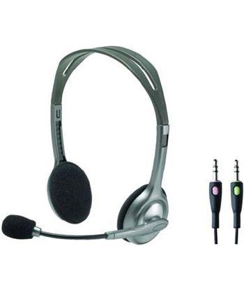 Logitech 981000271 auriculares estereo con micro h110 - 981000271