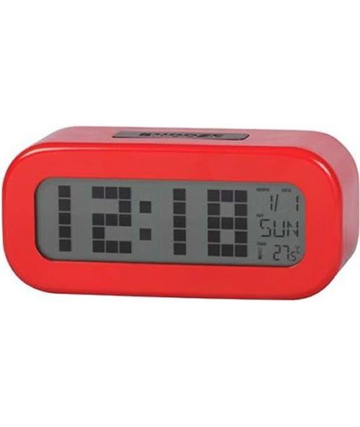 Reloj despertador digital  rojo Daewoo dcd-24-r DCD24R - 8412765661426