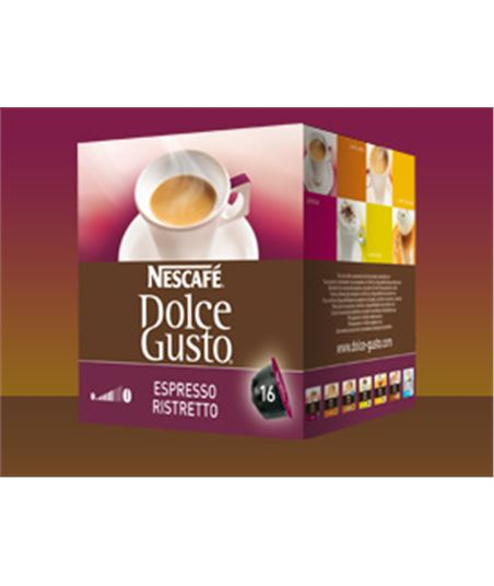 Bebida Dolce gusto ristretto 12089916 - 12089916CAIXA