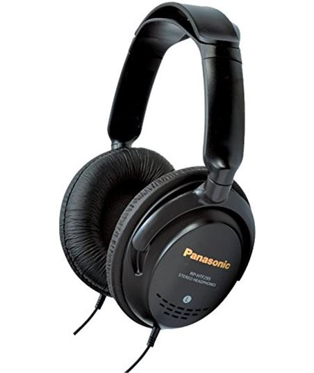 Auricular  monitor Panasonic rphtf295e_k , 5m cable RPHTF295EK - 5025232510450