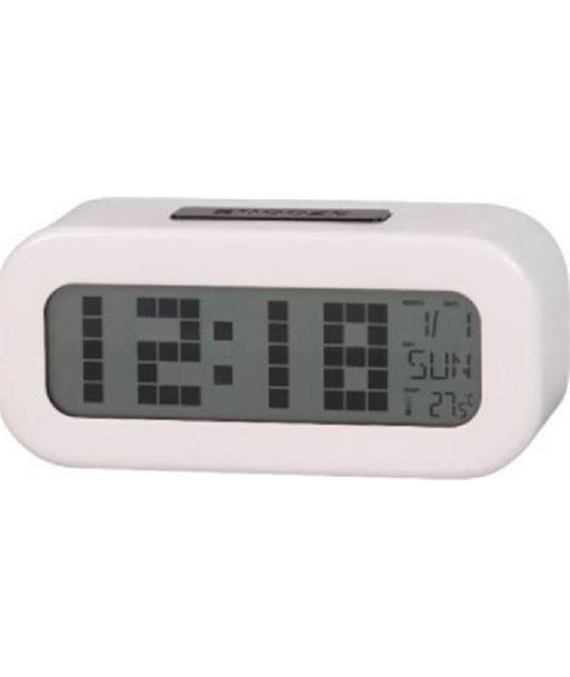 Reloj despertador digital blanco Daewoo dcd-24-w DAEDBF016 - 8412765648311