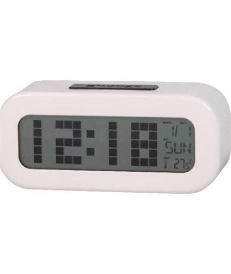 Reloj despertador digital blanco Daewoo dcd-24-w DAEDBF016