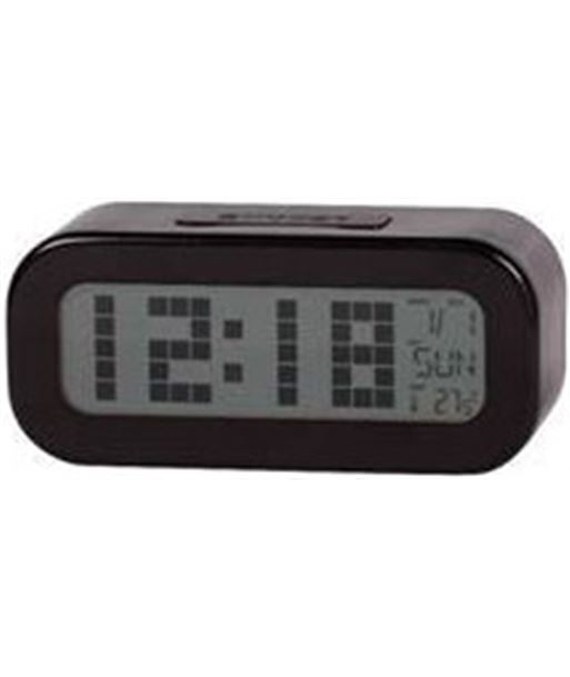 Reloj despertador digital  negro Daewoo dcd-24-b dbf018 - 8412765648335