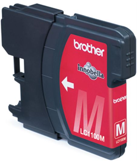 Tinta magenta Brother dcp-385c/585cw/mfc5890cn lc1100mbp - BROLC1100MBP