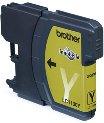 Tinta amarilla Brother dcp-385c/585cw/mfc5890cn lc1100ybp
