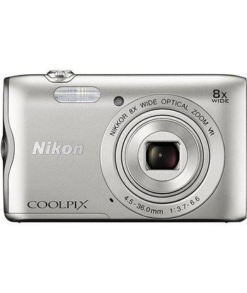 Cã¡mara de fotos digital Nikon coolpix a300 20mp 8x plata a300s