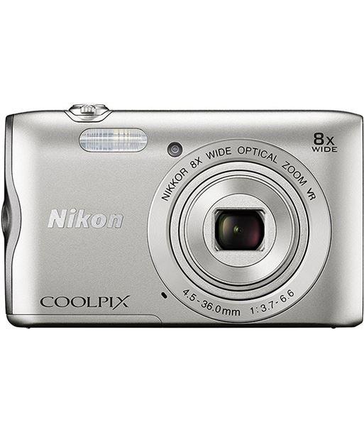 Cã¡mara de fotos digital Nikon coolpix a300 20mp 8x plata NIKA300S - A300S
