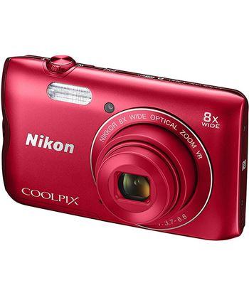 Cã¡mara de fotos digital Nikon coolpix a300 20mp 8x roja a300r
