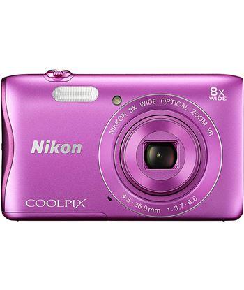 Cã¡mara de fotos digital Nikon coolpix a300 20mp 8x rosa a300p