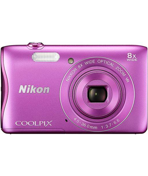 Cã¡mara de fotos digital Nikon coolpix a300 20mp 8x rosa NIKA300P - A300P
