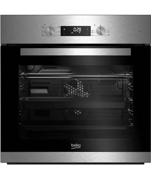 Beko horno independiente multifuncion inox BIE22300X - 8690842017094