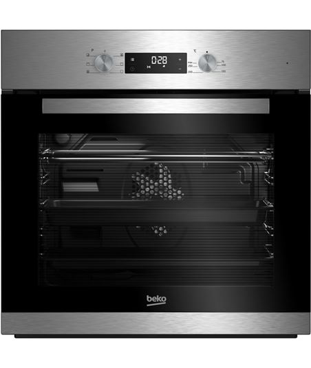 Beko horno independiente multifuncion inox BIE22300X