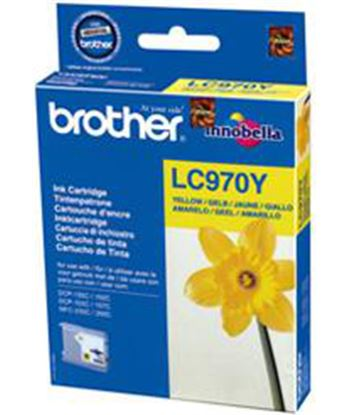 Tinta amarillo Brother 135/235 lc970y