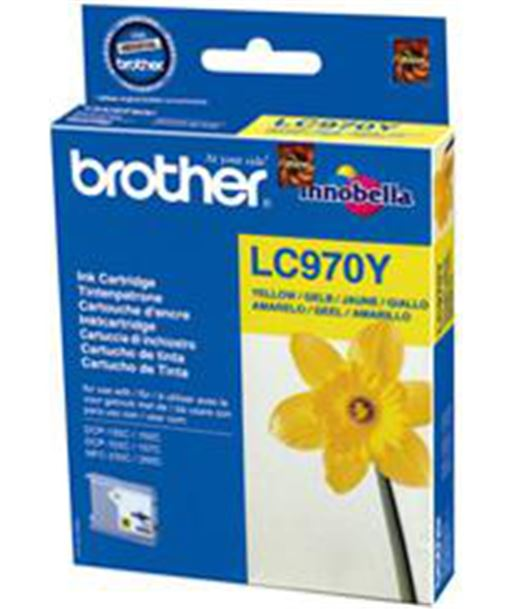 Tinta amarillo Brother 135/235 LC970Y Consumibles - 5014047560620