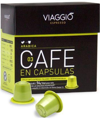 Cafe Viaggio espresso arabica 10 unidades A03F10M12
