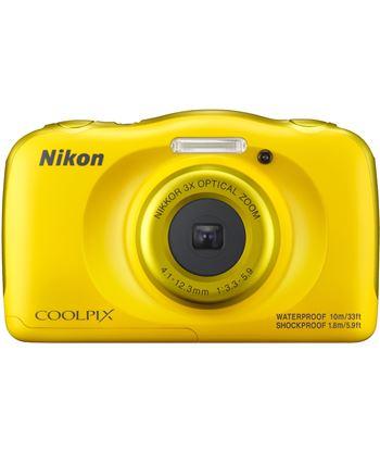 Nikon cámara de fotos  sumergible coolpix w100 yellow 13mp 4x w100y